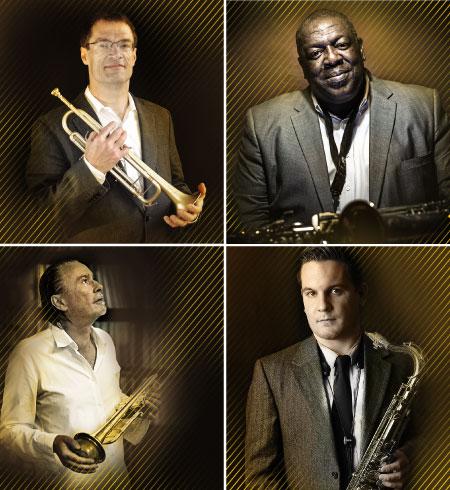 FOTO Jazz Summer Night 2019 die Jazz-Größen John Marshall, esse Davis, Peter Tuscher, Lukas Gabric