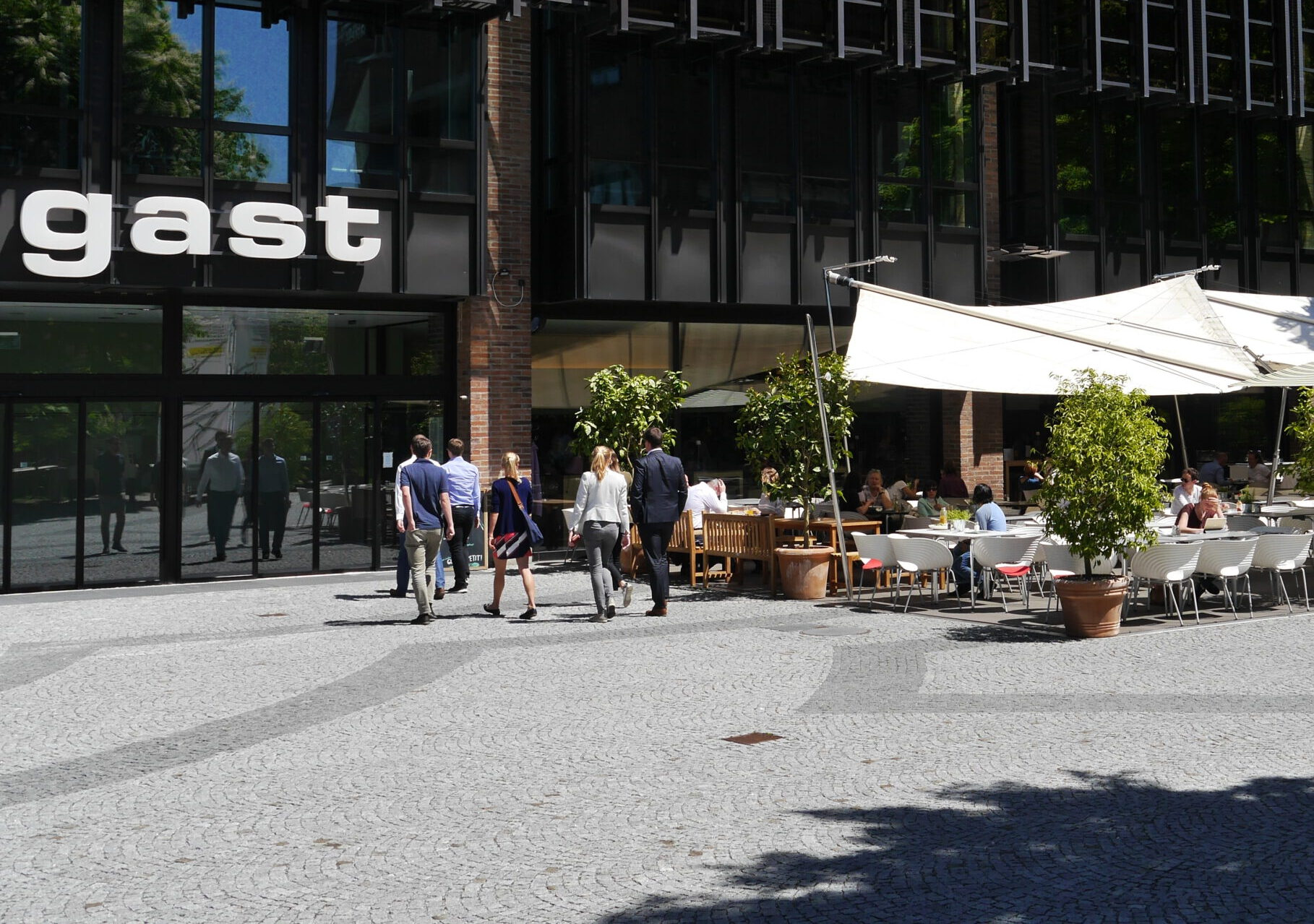 Foto Restaurant gast Eingang