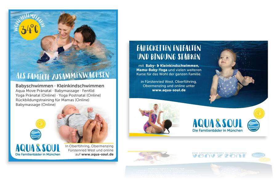 PLUTO & sunsAnzeigen für Aqua & Soul